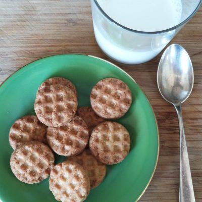 vaso leche galletas GOLOSAS